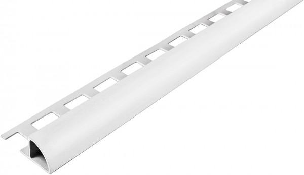 Rundprofil weiß geschlossen PVC