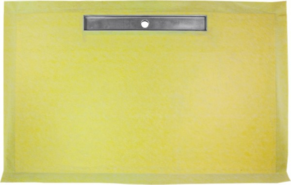 Duschboard rechteckig einseitiges Gefalle