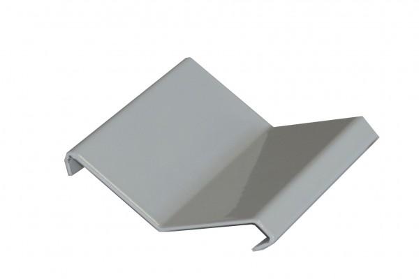 Balkonverbinder Aluminium SPLITT+KIES beschichtet grau