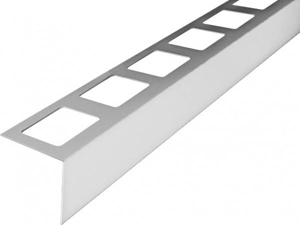 Balkonprofil aus Edelstahl in L-Form 300 cm
