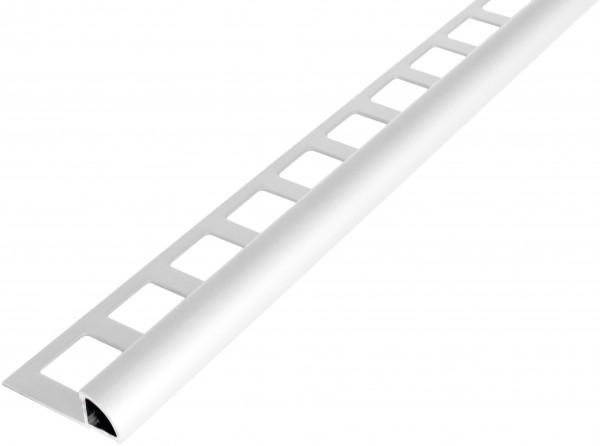 Viertelkreisprofil Aluminium weiß beschichtet