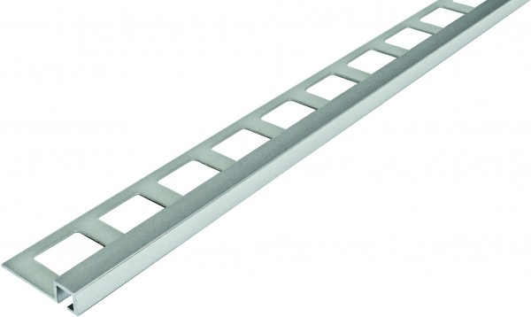 Quadratprofil Aluminium silber eloxiert