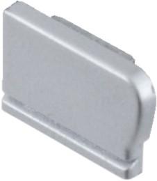 Endkappe links für Treppenprofile mit Antirutschbeschichtung
