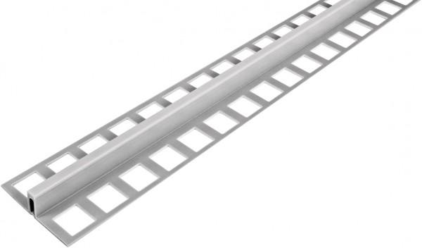 Dehnungsfugenprofil grau mit schmaler Sichtfläche