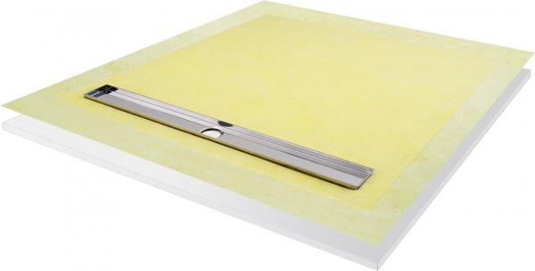 Duschboard quadratisch einseitiges Gefälle