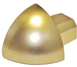 Außenecke Gold hochglanzeloxiert