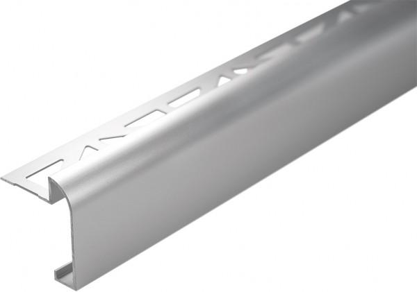Arbeitsplattenprofil 250 cm Alu silber-eloxiert