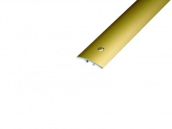 Übergangsprofil Aluminium gold verschraubbar