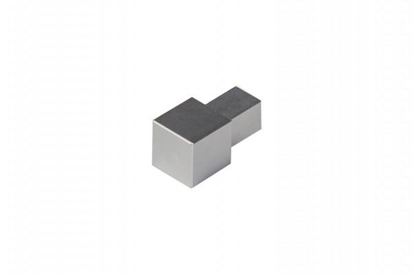 Quadratecke Metalldruckguss Natur ECO