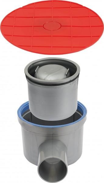 Bodenablaufkörper inkl. Siphon und Schutzdeckel