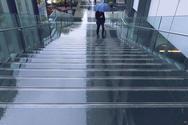 Treppenprofile mit Antirutschbeschichtung Anwendung