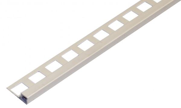 Quadratprofil PVC jasmin