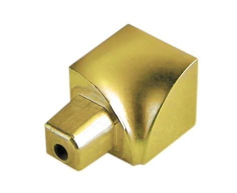 Innenecke gold-hochglanzeloxiert Aluminium