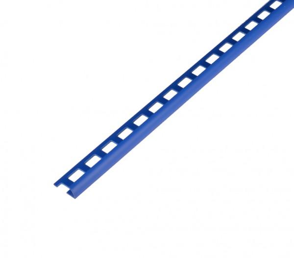 PVC Royalblau offen