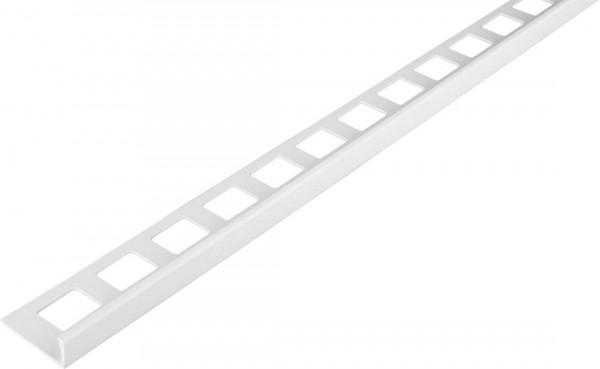 Winkelprofil PVC weiß