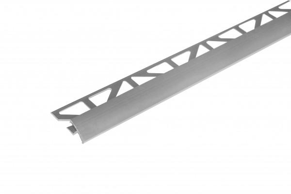 Anpassungsprofil schmal aus Aluminium natur 250 cm