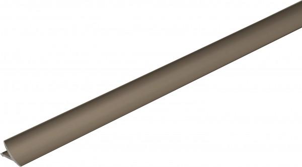 Anschlussprofil Aluminium titan eloxiert