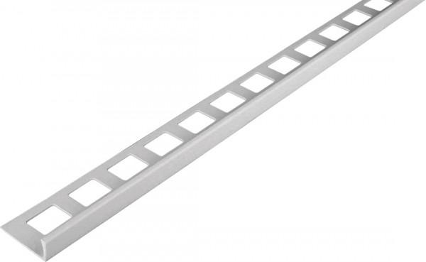 Winkelprofil PVC silbergrau