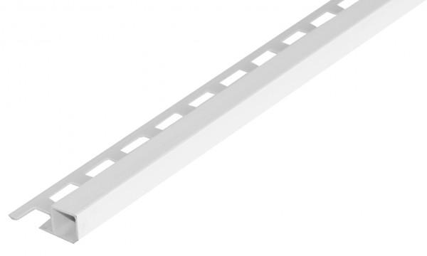 Quadratprofil PVC weiss