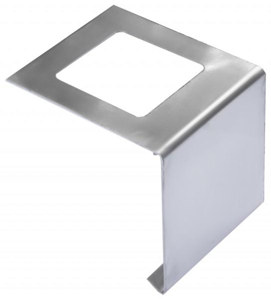 Edelstalverbinder für Balkonprofile in L-Form