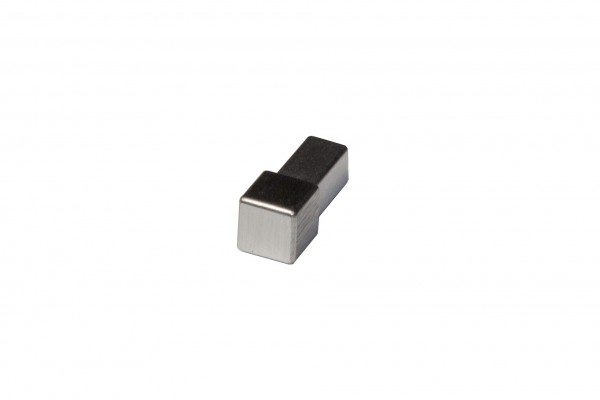 Quadratecke Metalldruckguss Feinschliff ECO