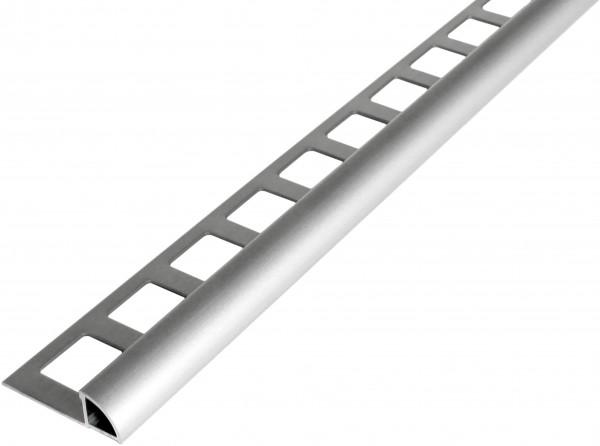 Viertelkreisprofil Aluminium silber eloxiert