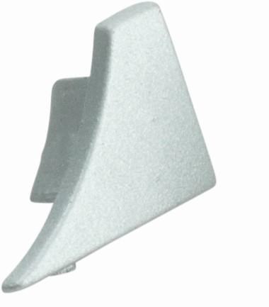 Endkappe rechts silber