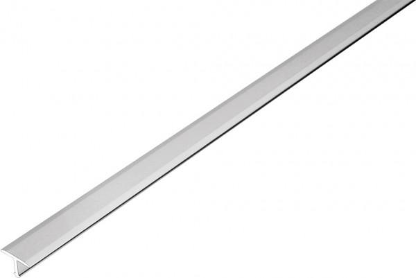 Übergangsprofil T-Form Aluminium silber eloxiert