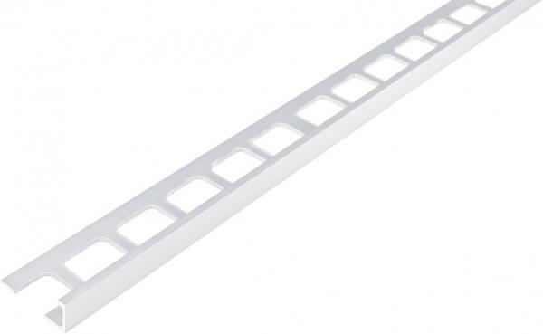 Winkelprofil Aluminium weiß beschichtet