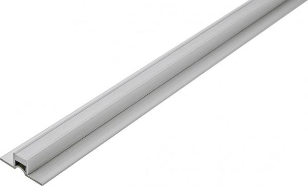 Dehnungsfugenprofil mit schmalen Schenkeln aus PVC grau